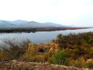 Река Шилка.