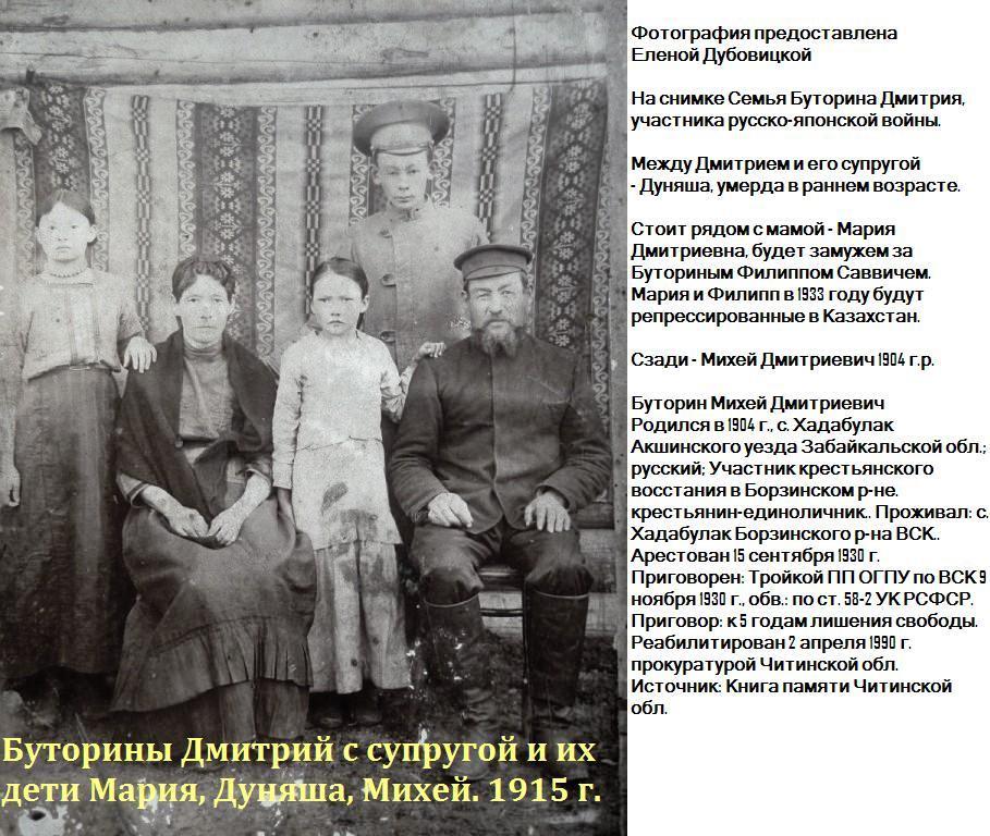 Семья Дмитрия