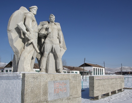 Матусово - Памятник землякам, погибшим в годы Великой Отечественной войны