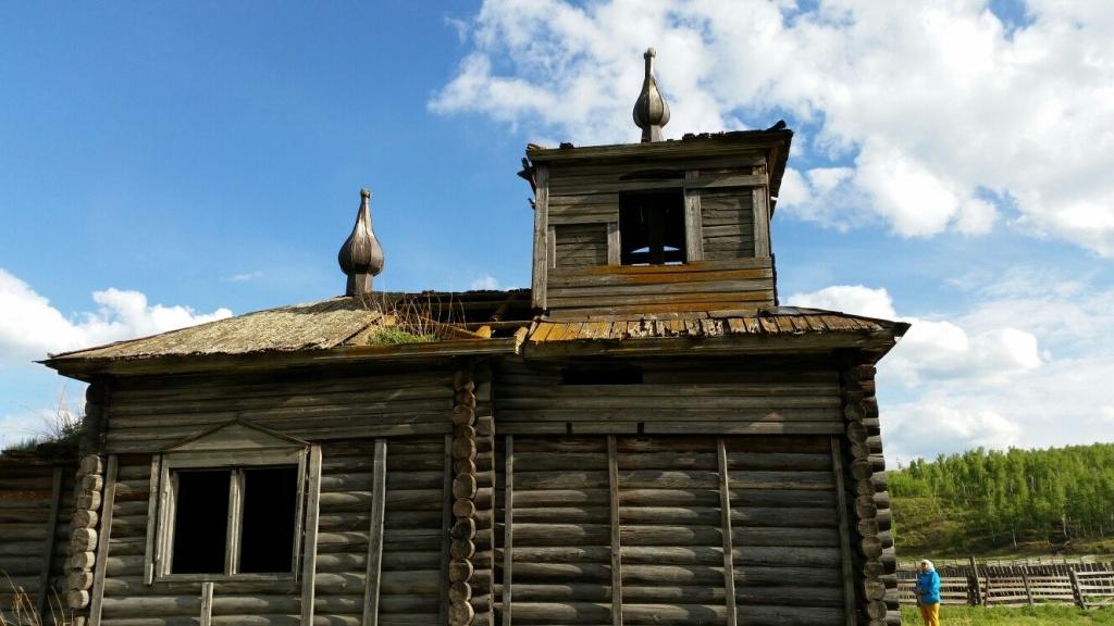 Село Барановск - Димитриевская церковь - Июнь 2015