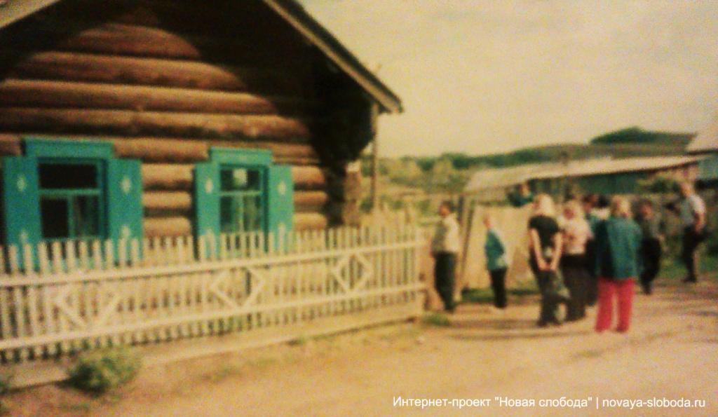 Село Калинино Нерчинского района - Самый старый дом